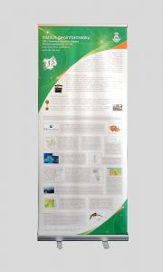 Roll-up pro Institut Geoinformatiky