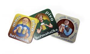 Originální pivní podtácky