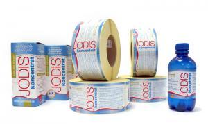 Etikety, obalový design
